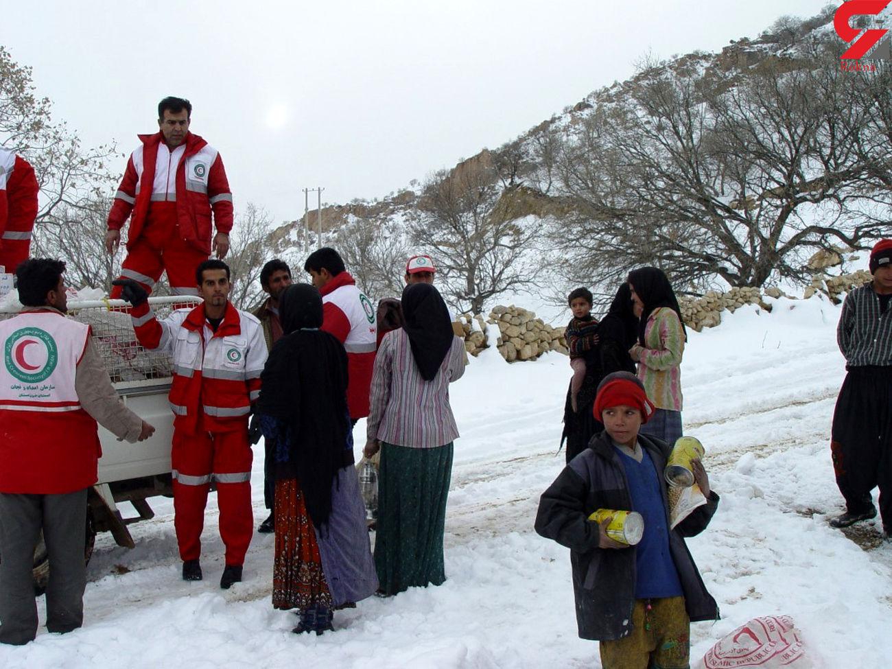 نجات جان حادثه دیدگان کرمانشاهی گمشده در ارتفاعات