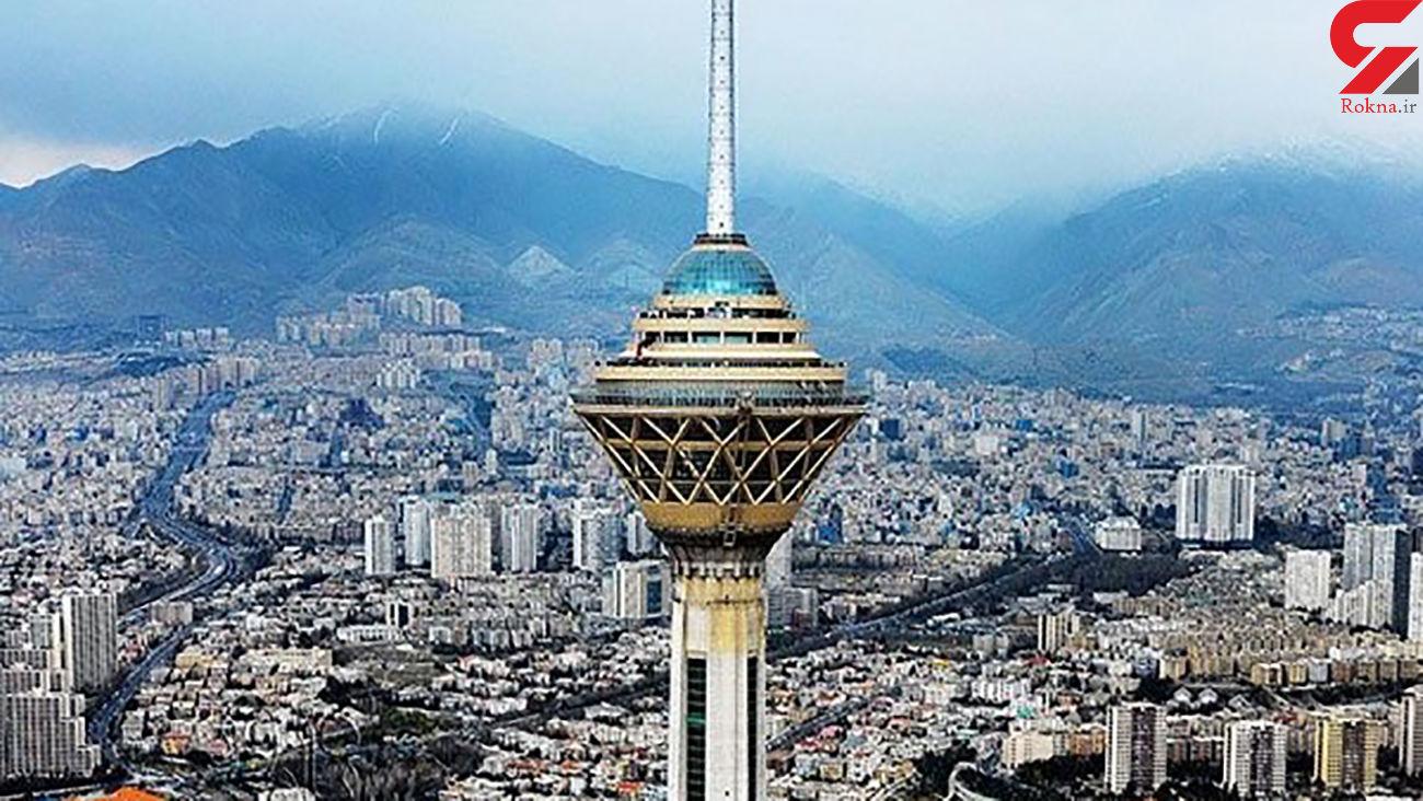 بررسی هوای تهران در 14 شهریور