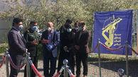 بازدید زالی از بیمارستان سیار آیتالله صدوقی نیروی زمینی سپاه