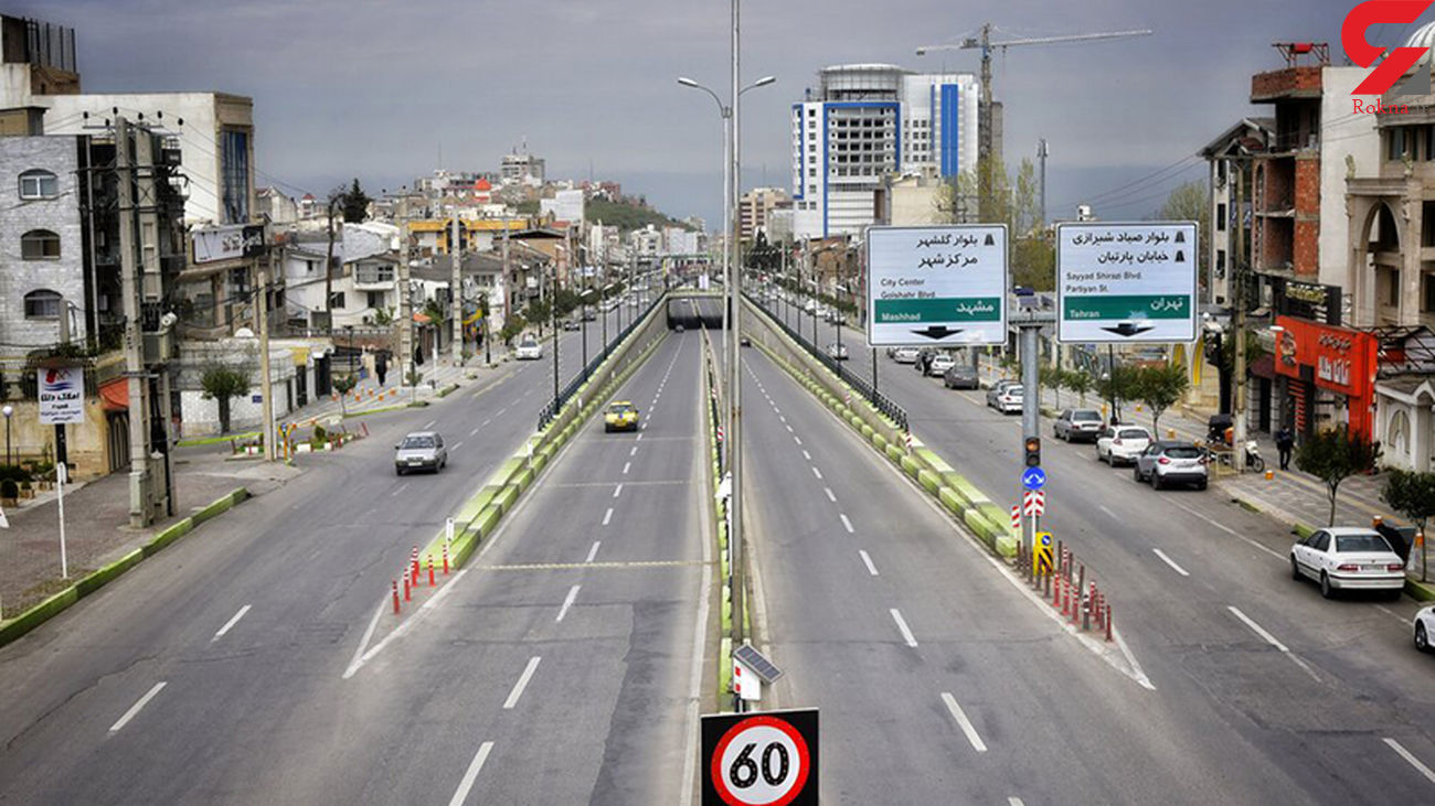 کاهش ۹۵ درصدی سفرهای درون شهری در مشهد