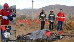 عکس جسد مرد سوخته در بجنورد! / علت عجیب مرگ+عکس
