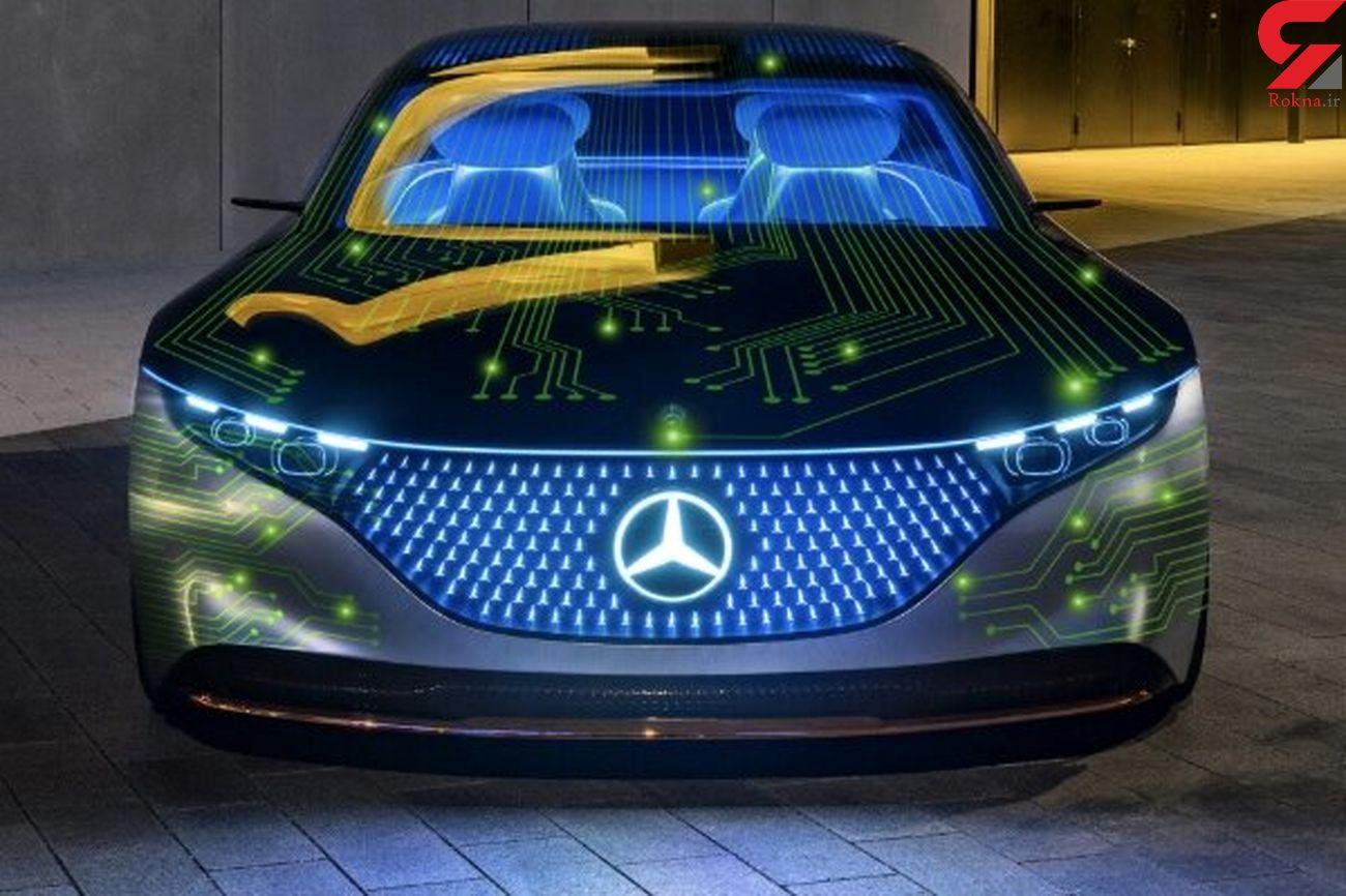 مرسدس و انویدیا سیستم خودران خودرو می سازند