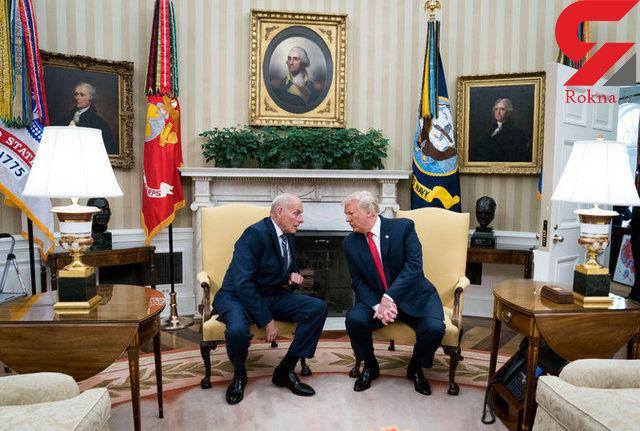 ترامپ شایعه استعفای رئیس دفتر کاخ سفید را رد کرد