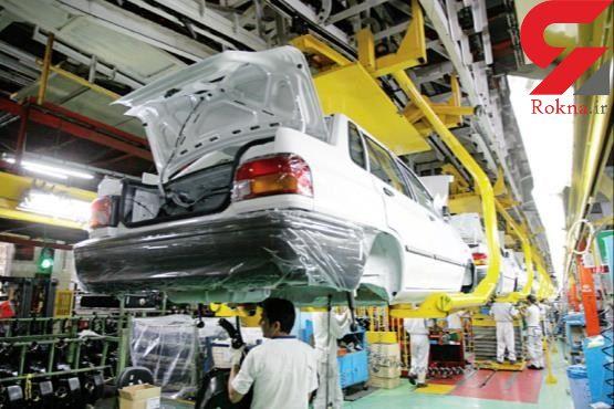 تولید خودرو 38 درصد کاهش یافت