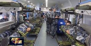 بیمارستان هوایی در ارتش چین + عکس