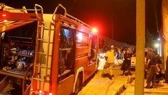 ترکیدن سیلندر گاز در تهران+ تصاویر