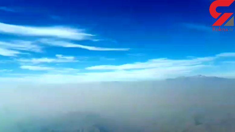 خبر بد برای تهرانی ها / هوا باز پس می شود+فیلم