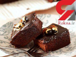 برانیز کاراملی کیک فوری و خوشمزه + دستور تهیه