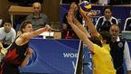 صعود تیم ملی والیبال برزیل به رقابتهای جهانی