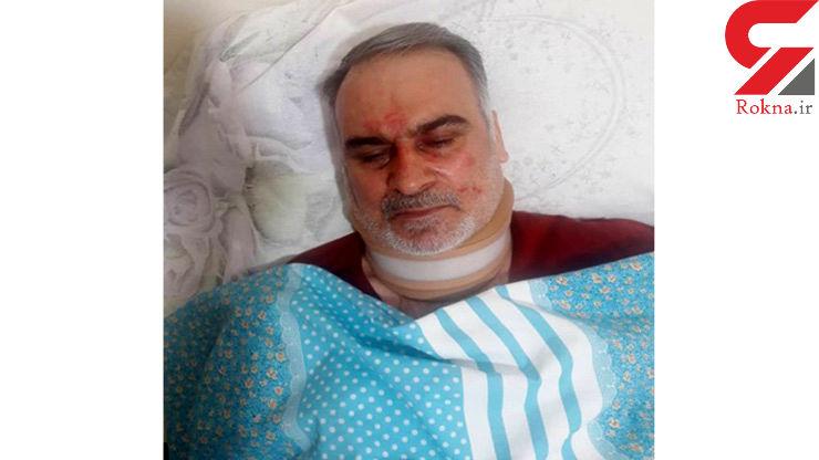 مرد جانباز زشت ترین صحنه را از دختر و پسر دید  / او در تهران با چاقو زخمی شد + عکس