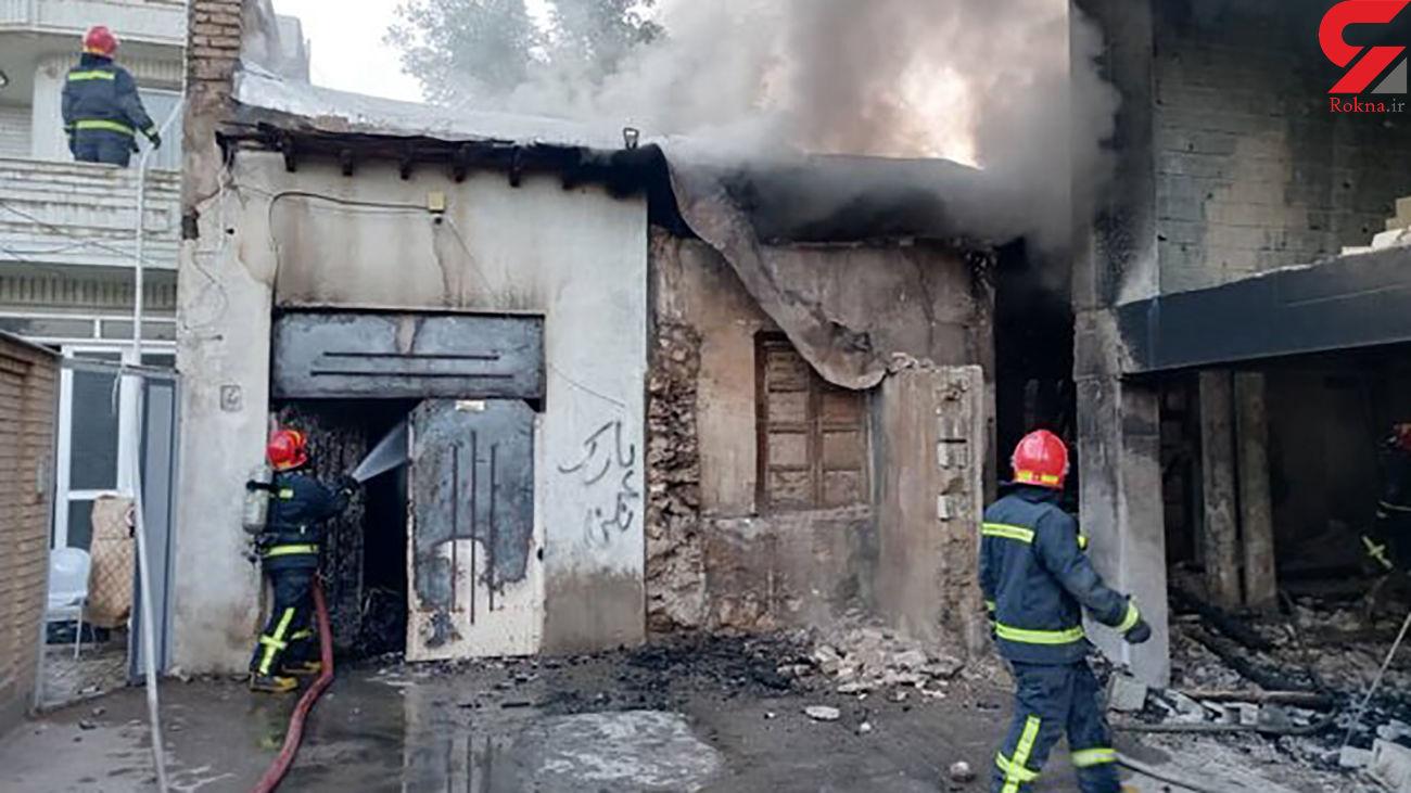عکس / انفجار هولناک منزل مسکونی در شیراز+ جزییات کامل حادثه