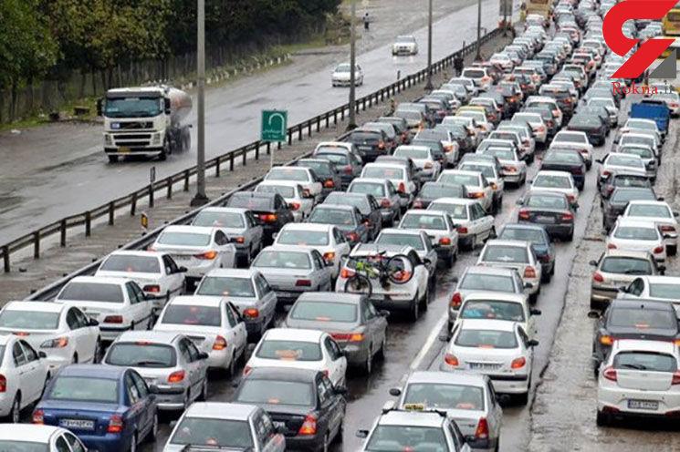 آخرین وضعیت ترافیکی شهر تهران + جزئیات