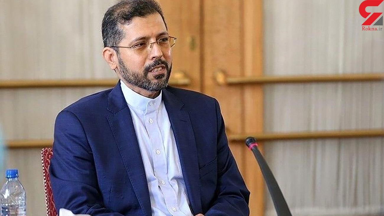 سخنگوی وزارت خارجه: هرگونه تعرض به خاک ایران غیرقابل تحمل است
