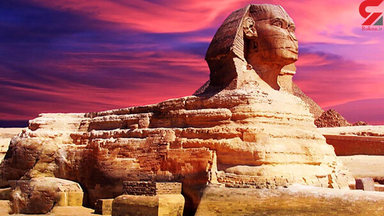 مجسمه ساز مصری ابوالهول را شاد کرد