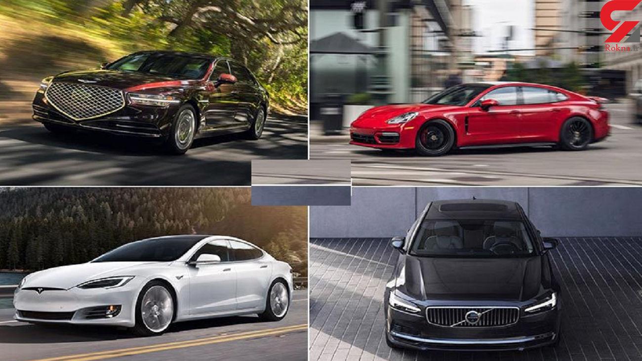 خودروهای لاکچری 2021 را بشناسید + عکس