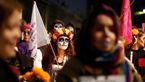 تظاهرات مکزیکیها در اعتراض به خشونت علیه زنان+ تصاویر