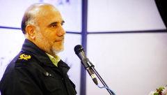 پیام تبریک رییس پلیس تهران برای ماه بهمن