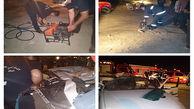 واژگونی وحشتناک خودرو در خرمشهر + عکس