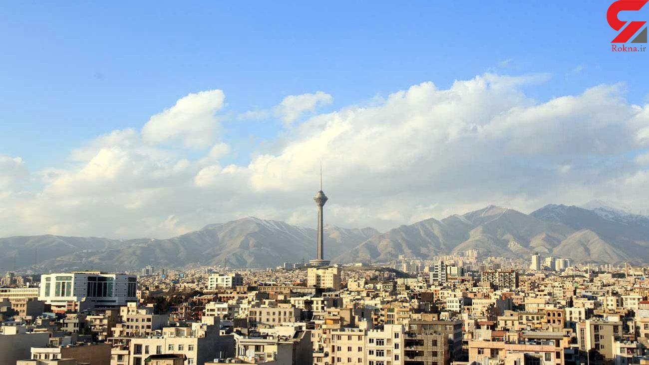 هوای تهران امروز 29 خرداد قابل قبول است