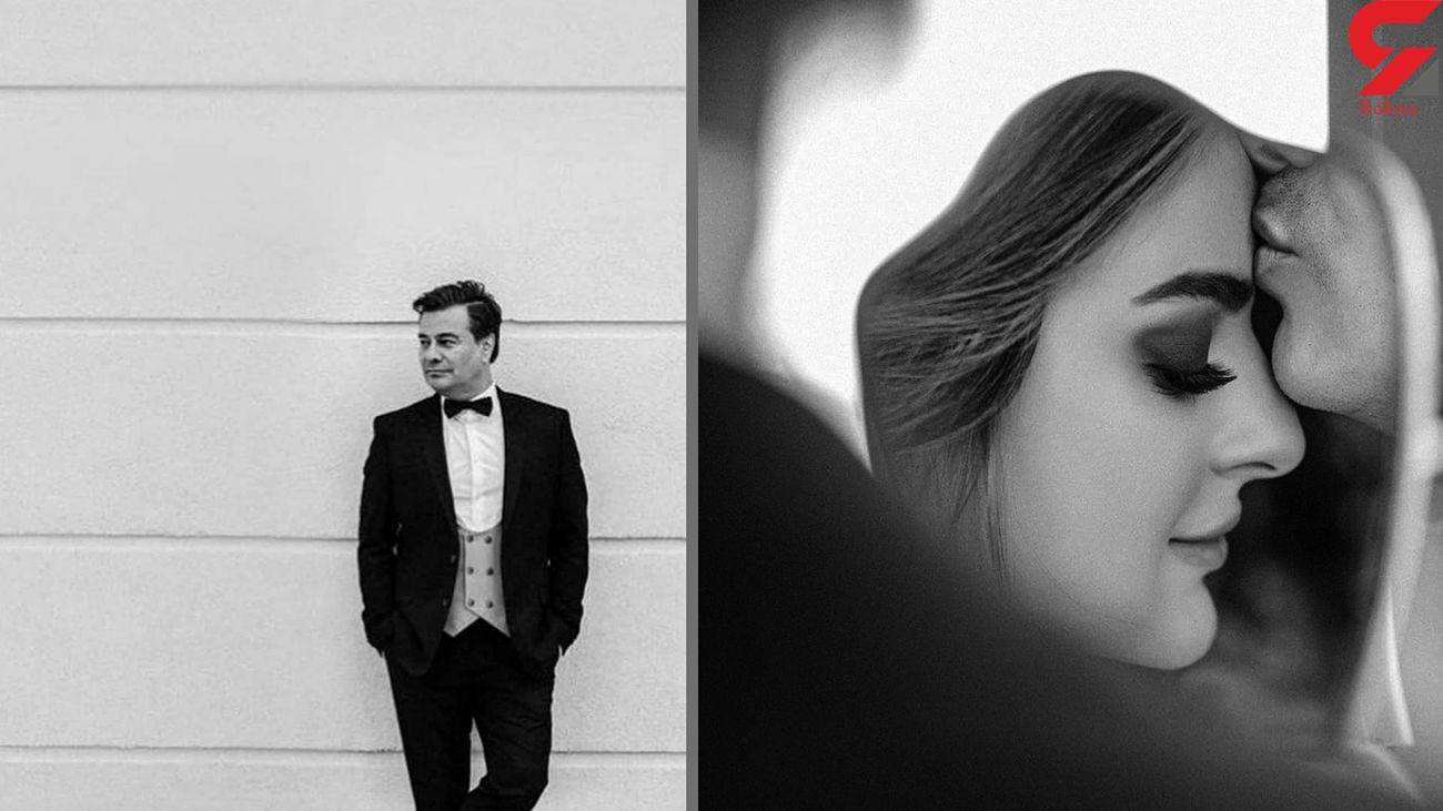 پیمان قاسمخانی با میترا ابراهیمی ازدواج کرد + عکس