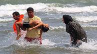 نجات 530 نفر در آبهای ساحلی مازندران