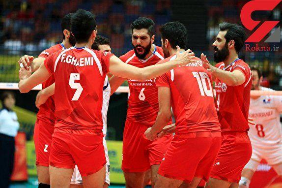 بازجویی از ملی پوشان والیبال ایران در آمریکا