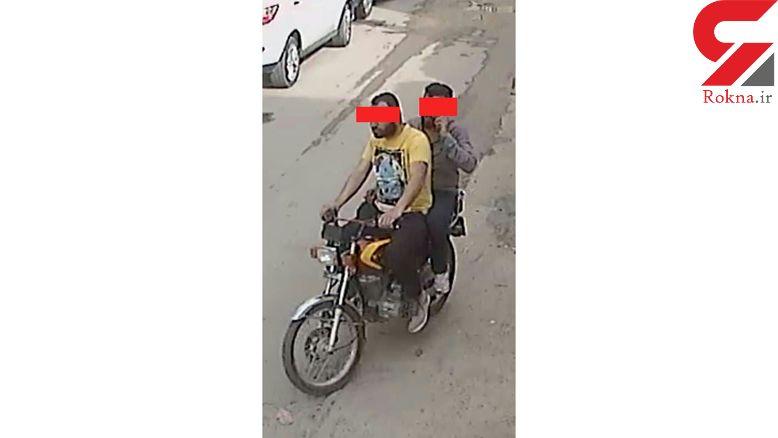 حمله دو موتورسوار به زن و شوهر جوان در آبادان + عکس