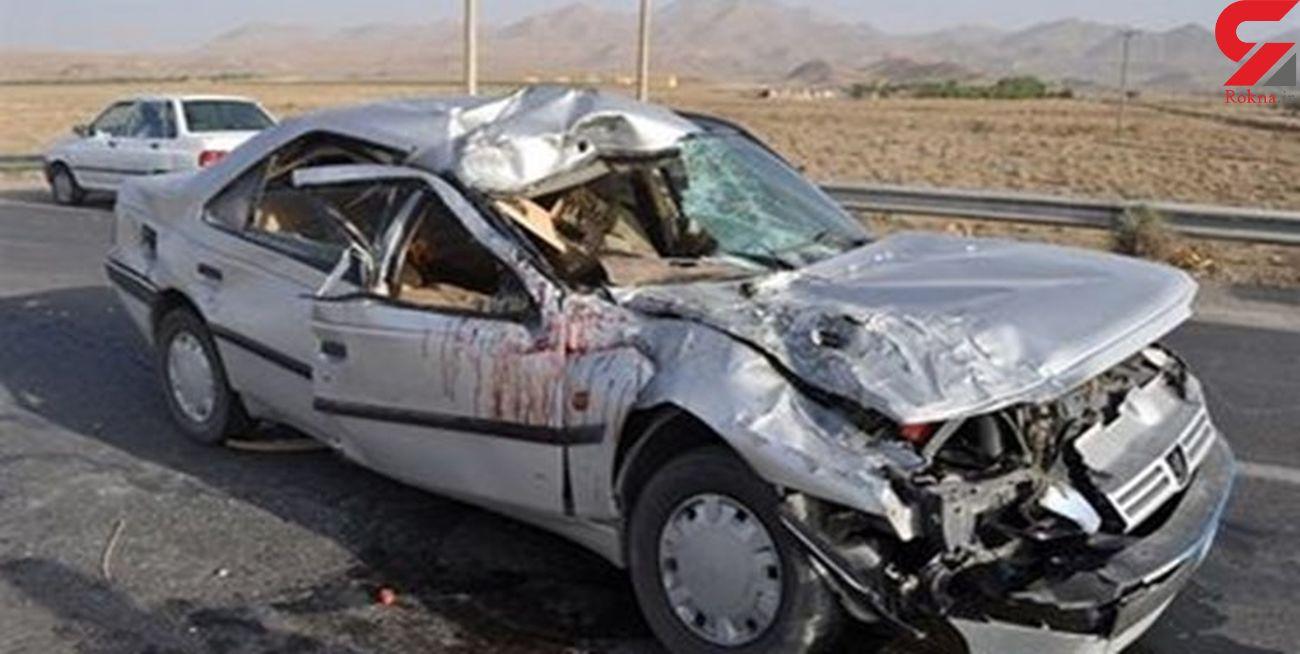 خواب آلودگی مرگبار راننده پژو / 2 کشته و 5 نفر مصدوم شدند