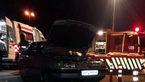 تصادف مرگبار در آزادراه تهران-قم + عکس