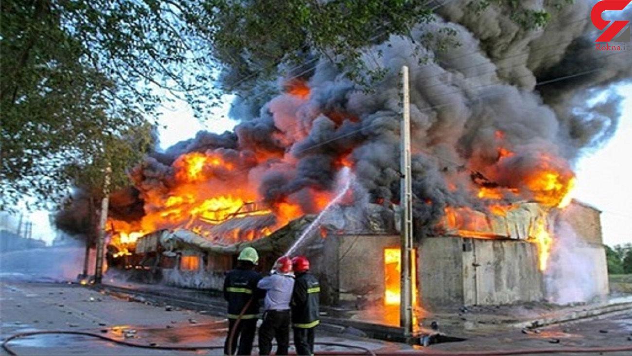 عکس / زنده زنده سوختن 5 زن و مرد اهوازی در کوی طلاب