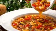 دستور پخت یک سوپ ضد سرفه