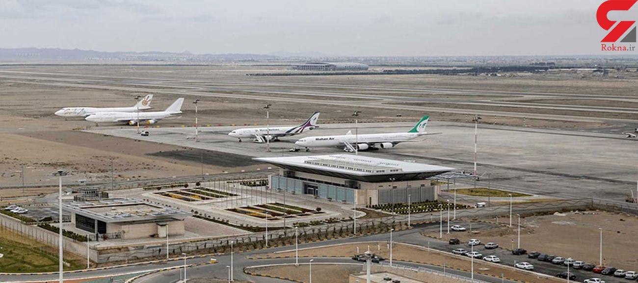 کاهش ۹۱ درصدی پروازهای بین المللی در ۵ ماه سال ۹۹