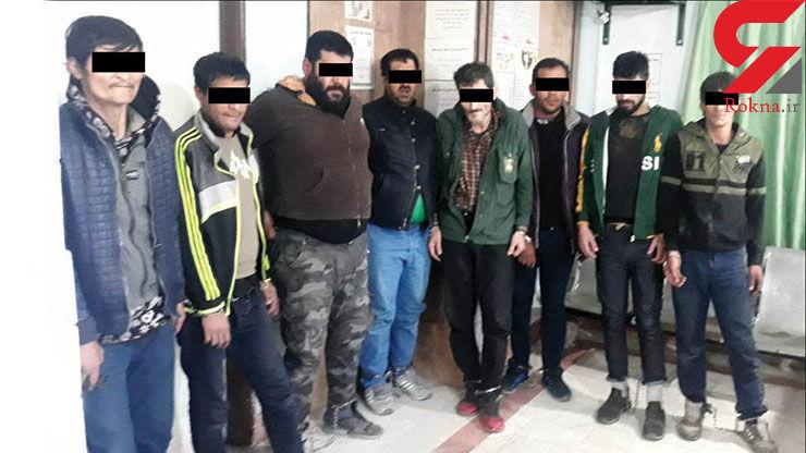چادر زنانه راز 8 مرد پلید را فاش کرد / آنها در مشهد جولان می دادند + عکس