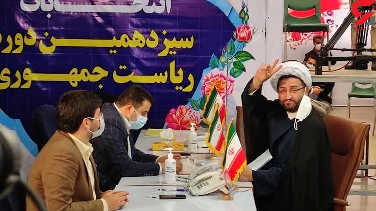 زارع فومنی هم وارد ستاد انتخابات شد