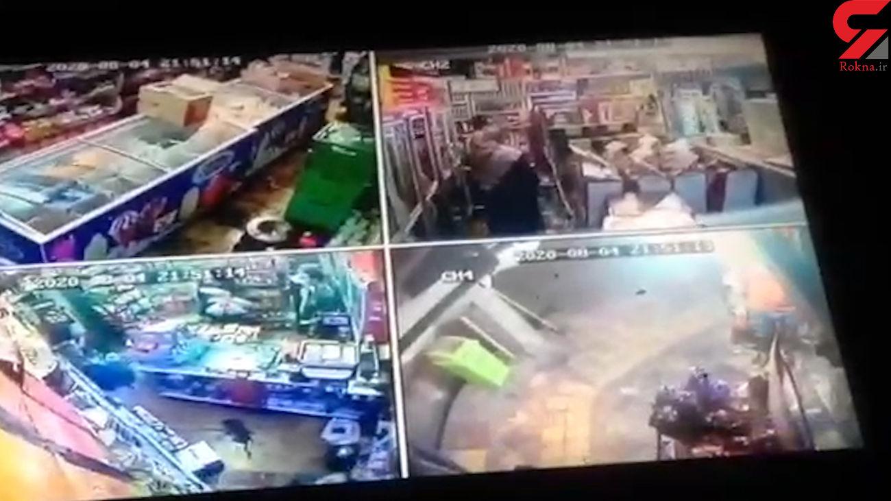 اولین فیلم ها از حمله وحشتناک اوباش به محله پیروزی تهران