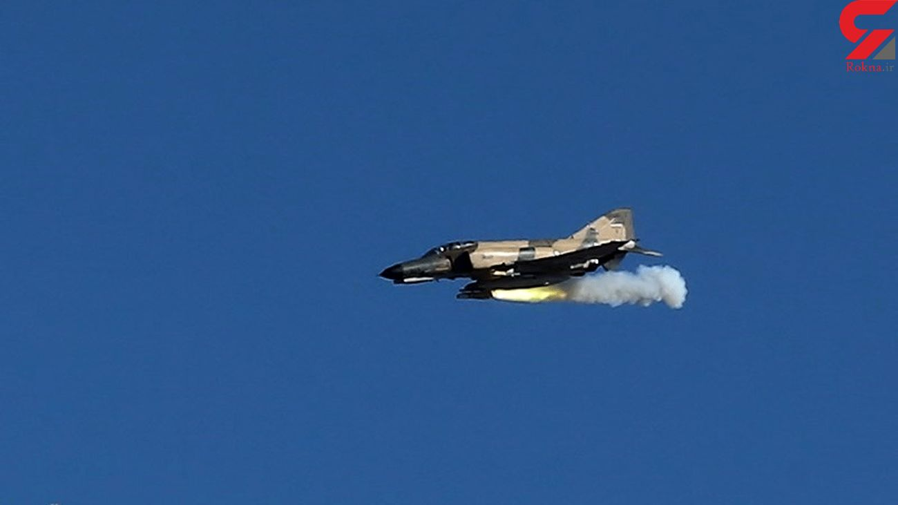 Iran Air Force Uses Homegrown Jet Cameras in Drill