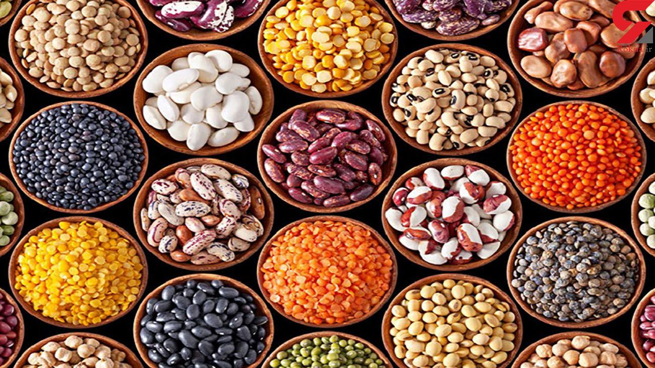 قیمت حبوبات در بازار امروز شنبه اول آذر ماه 99 + جدول