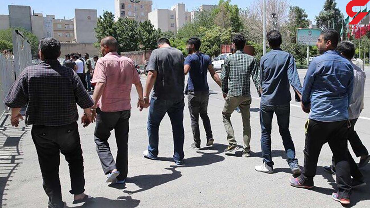 جاعلان میلیاردی چک های بانکی در تهران بازداشت شدند