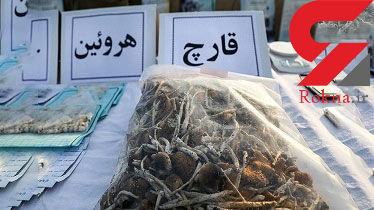 انهدام ۲۶ باند قاچاق و کشف ۲.۳ تن مواد مخدر در استان کرمانشاه