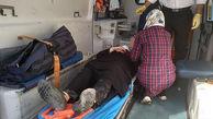 تصادف شدید 2خودرو در بهشت زهرا / زن تهرانی مصدوم شد + عکس ها