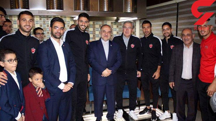 سلطانیفر خطاب به بازیکنان پرسپولیس: مردم شما را قهرمان میدانند