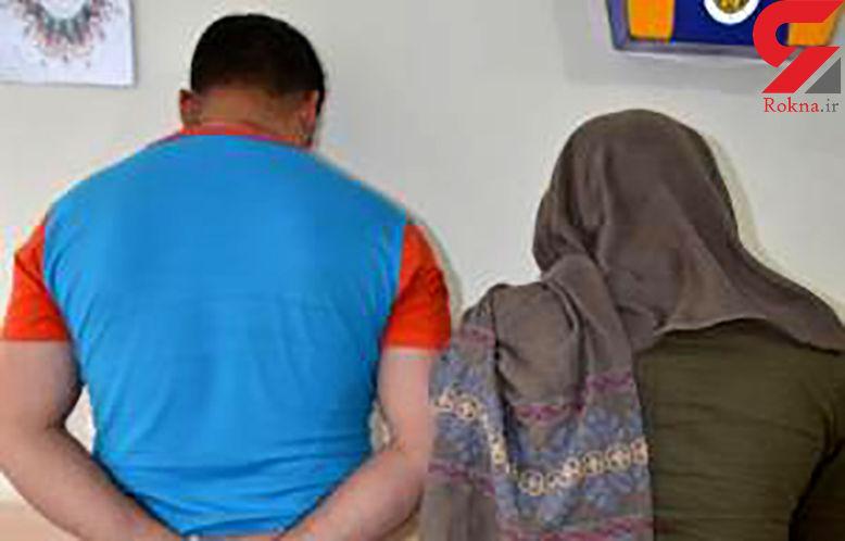 زن و مرد جوان  رستورانی در تهران را به هم ریختند!  + عکس