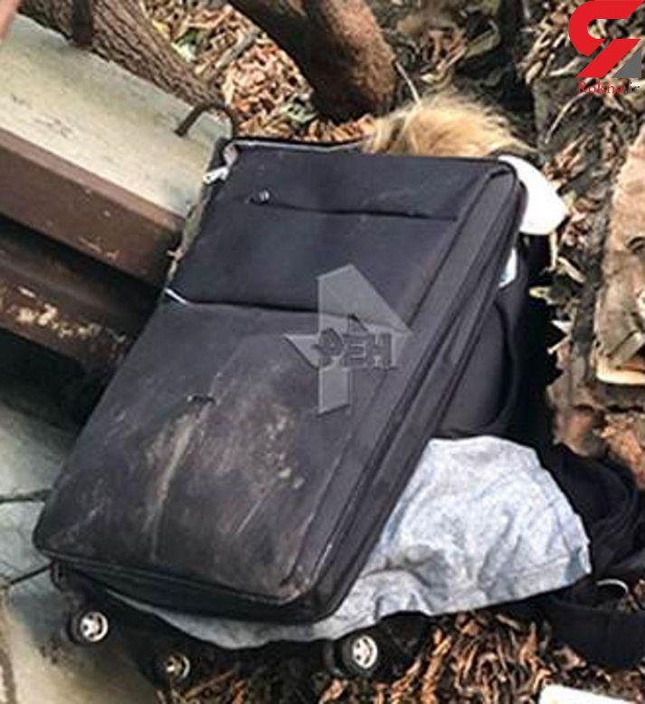 راز اجساد 2 زن بدون لباس  درون چمدان + تصاویر