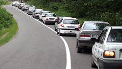افزایش حجم ترافیک ورودی به تهران در نخستین روز هفته