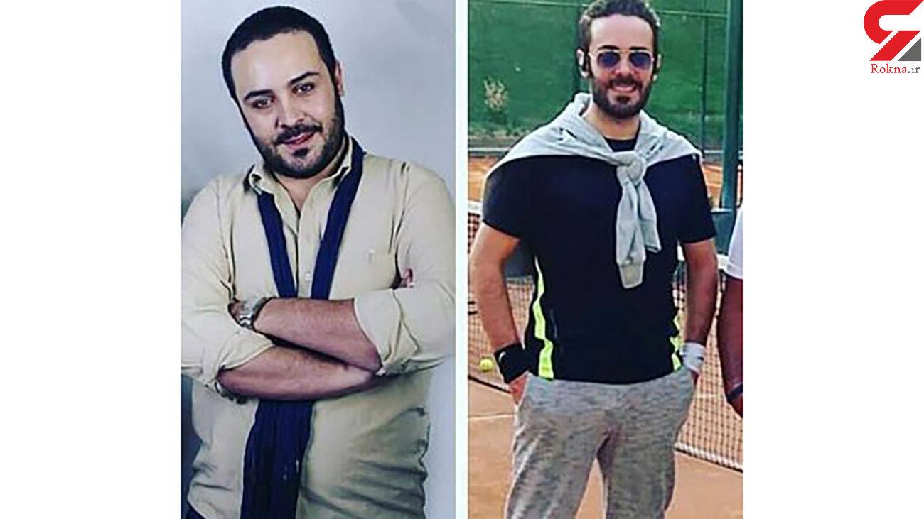 لاغری عجیب بازیگر سرشناس ایرانی + عکس قبل و بعد