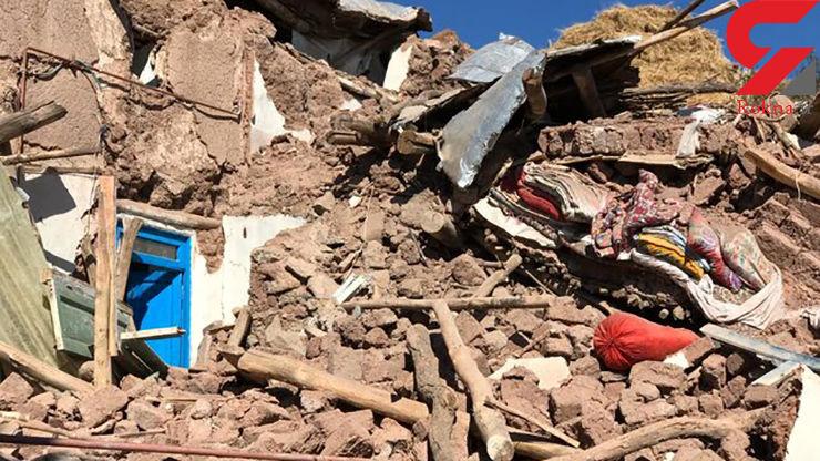 آسیب ۳۰تا ۱۰۰ درصدی زلزله به ۷ روستای زلزلهزده