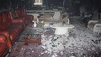 نجات 10 نفر از آتش سوزی یک ساختمان