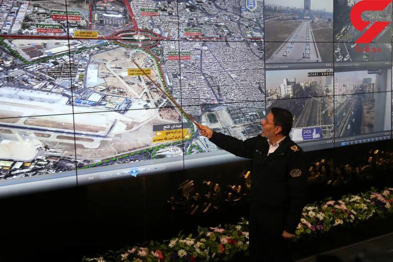 تمهیدات ترافیکی راهپیمایی روز  22 بهمن + عکس و فیلم