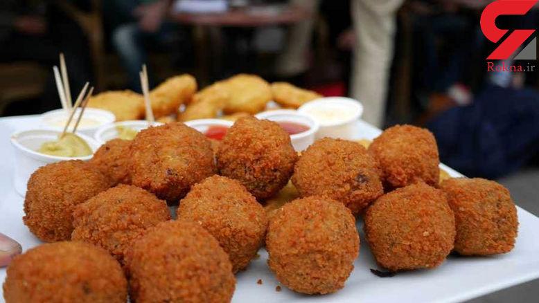 خوشمزه ترین غذای هلندی را در آمستردام بخورید!