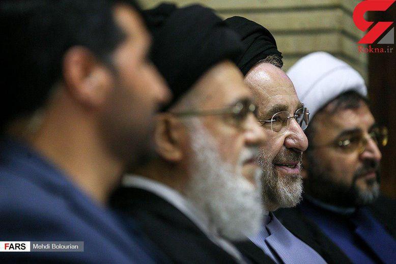 محمد خاتمی دیگر ممنوع التصویر نیست! + عکس